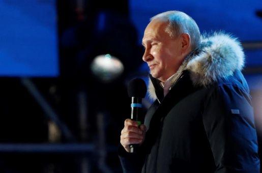 Putin ganó por el 76 por ciento de votos en unas elecciones sin verdaderos rivales