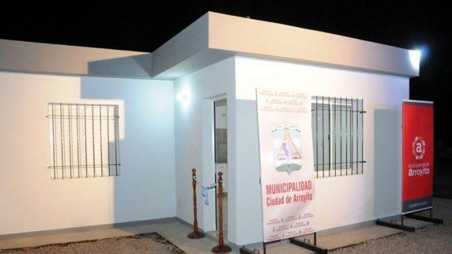 En Arroyito lograron construir una casa por semana