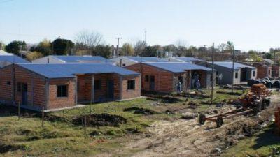 Son 25 localidades entrerrianas donde se comenzarán a construir las primeras viviendas con fondos provinciales
