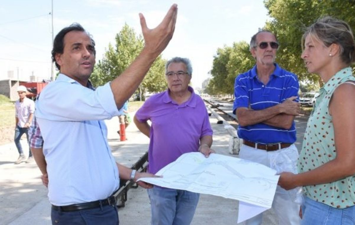 Obras: Nación envió los fondos del Promeba pero el Municipio de Río Cuarto pide $ 35 millones por el cordón cuneta