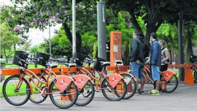 Las bicis públicas cuadriplicaron el número de viajes en Rosario