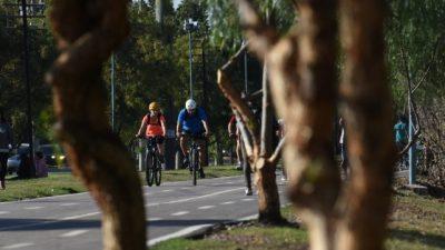Con 140km de ciclovías dicen que unirán el Gran Mendoza