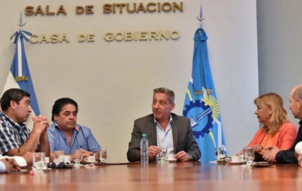 Chubut: Apoyo de jefes comunales de la Meseta