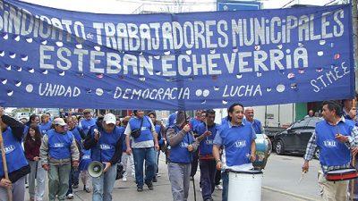 El Ejecutivo de Echeverría ofreció 15% de aumento a los municipales sin cláusula gatillo