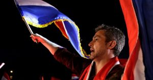 El colorado Mario Benítez es el presidente electo de Paraguay