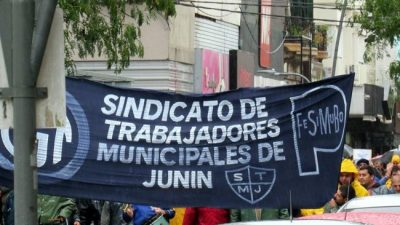 Junín: Nuevo paro con movilización de los trabajadores municipales