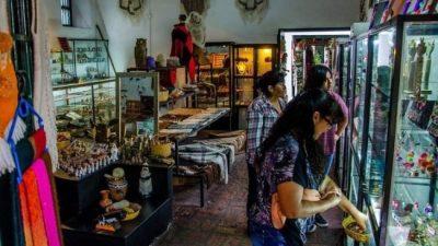 Vendedores del Mercado Artesanal de Salta, preocupados