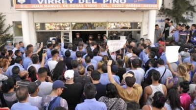 """El massismo hace causa común con Magario: """"La responsabilidad por la inseguridad es de Vidal"""""""