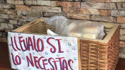 Más solidaridad en el ajuste: en una panadería de La Plata regalan el pan a los que no pueden pagarlo