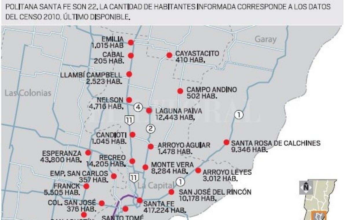 Más de 20 localidades santafesinas buscan resolver problemas comunes para crecer juntas