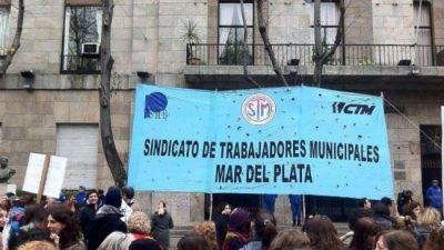 Municipales de Mar del Plata decretan el estado de alerta y movilización