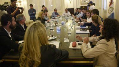 La intendente Mónica Fein busca consenso para la autonomía municipal rosarina