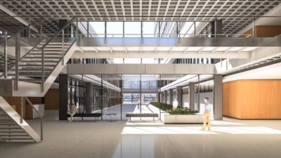Muestran cómo será el nuevo palacio municipal de Cipolletti