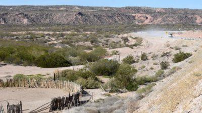 Dos intendentes rionegrinos se disputan las tierras en la Margen Sur