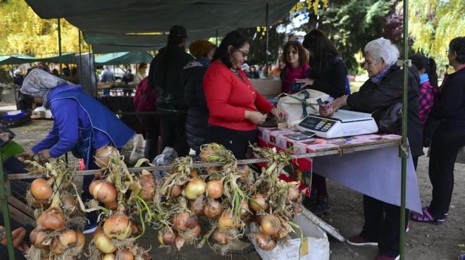 Productores hortícolas consolidan su feria en Bariloche