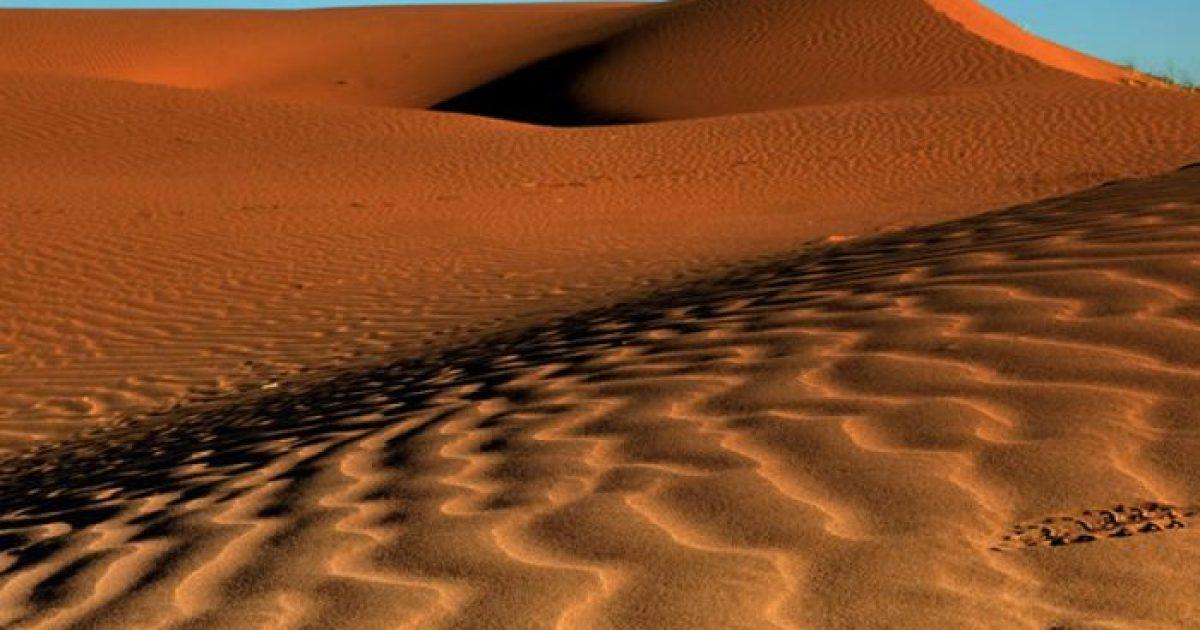Altos Limpios: el Sahara desde Lavalle