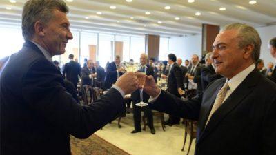Macri dijo que sueña para el país una justicia como la de Brasil