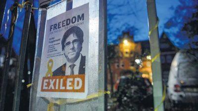 Puigdemont, más cerca de la extradición