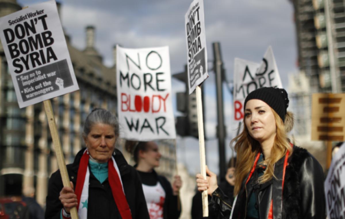 """May defendió el ataque a Siria como """"legal y necesario"""""""