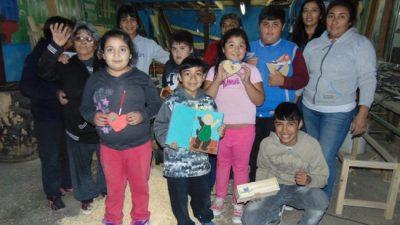 Carpintería, una alternativa para educar y contener enMariano Moreno