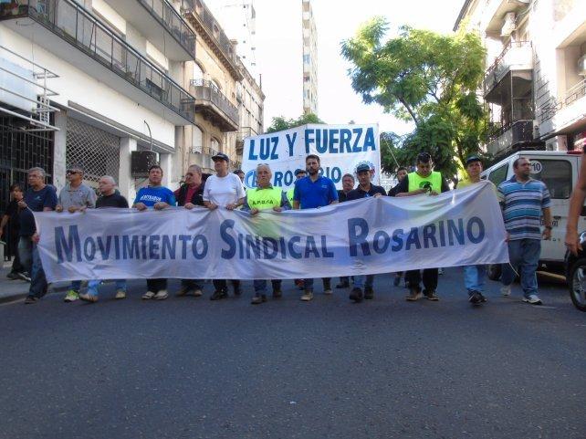 Movimiento Sindical Rosarino, contra el FMI