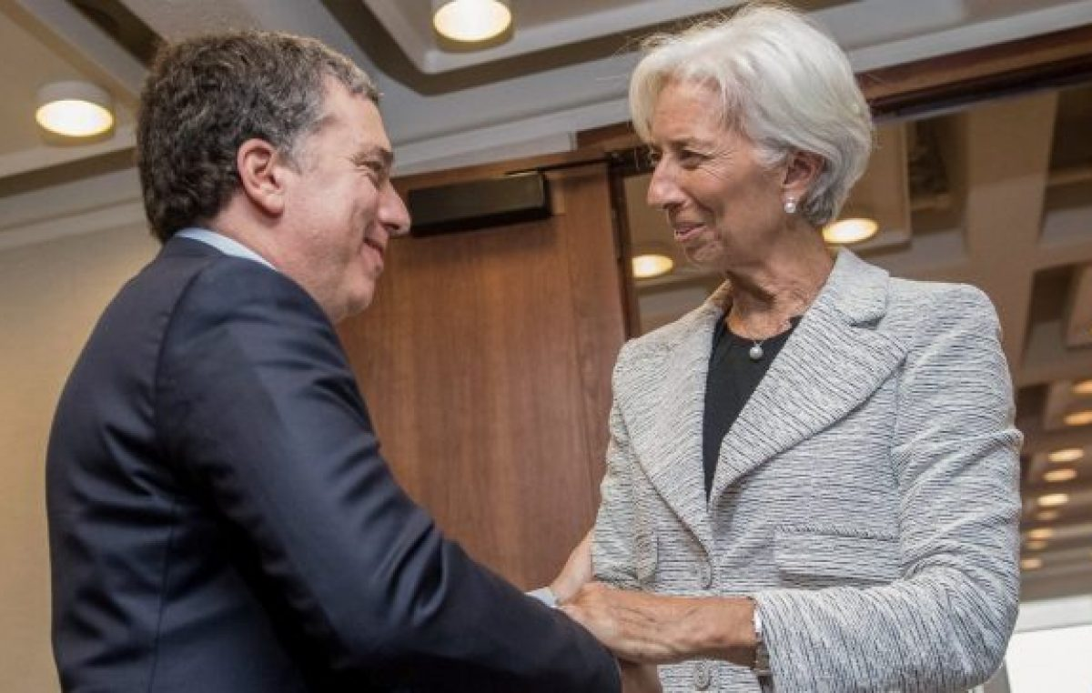 Dujovne empezó a recibir instrucciones de Lagarde