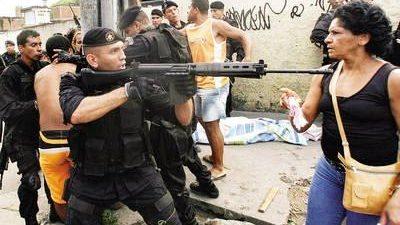 Una persona baleada cada 6 horas en Río