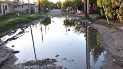 La ciudad de Santa Fe aun tiene 4.800 calles de tierra