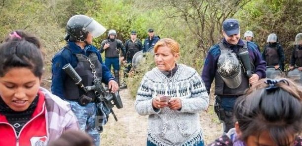 Salta: Desalojo, incidentes y reclamo por terrenos
