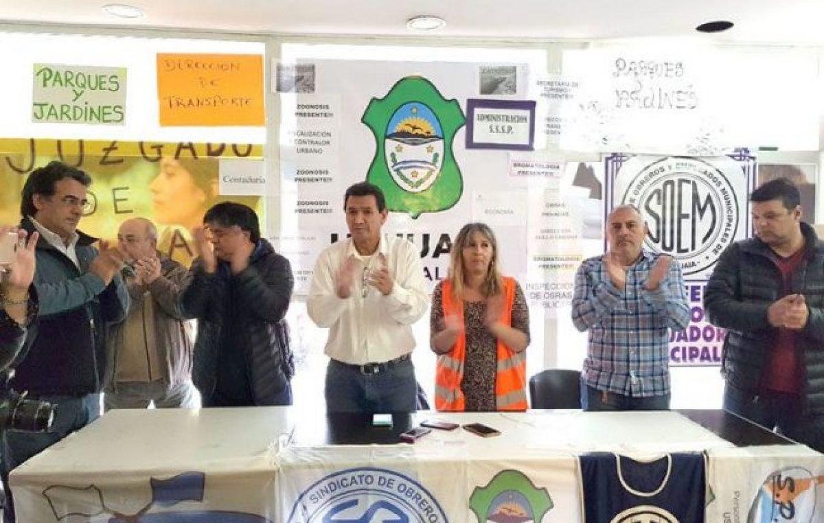 Municipales de Ushuaia pidieron que se debata una mesa de negociación salarial