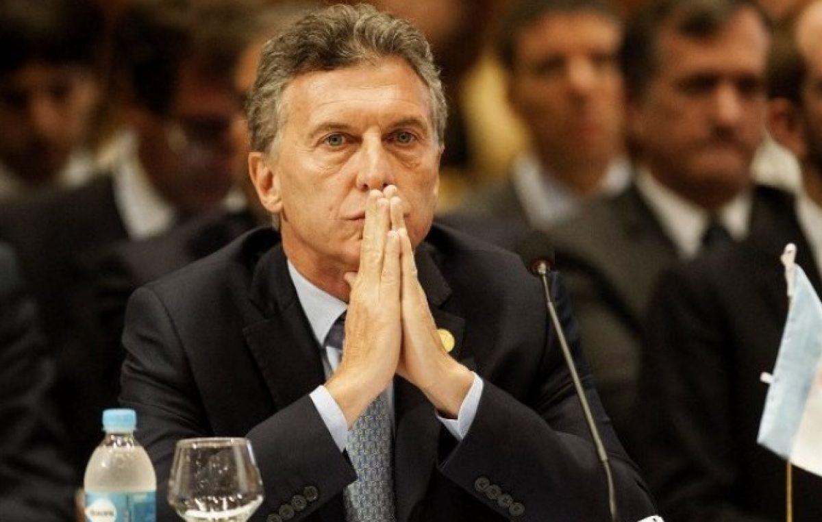 Tras el pedido de ayuda al FMI, otra encuesta refleja la imagen devaluada que posee Mauricio Macri
