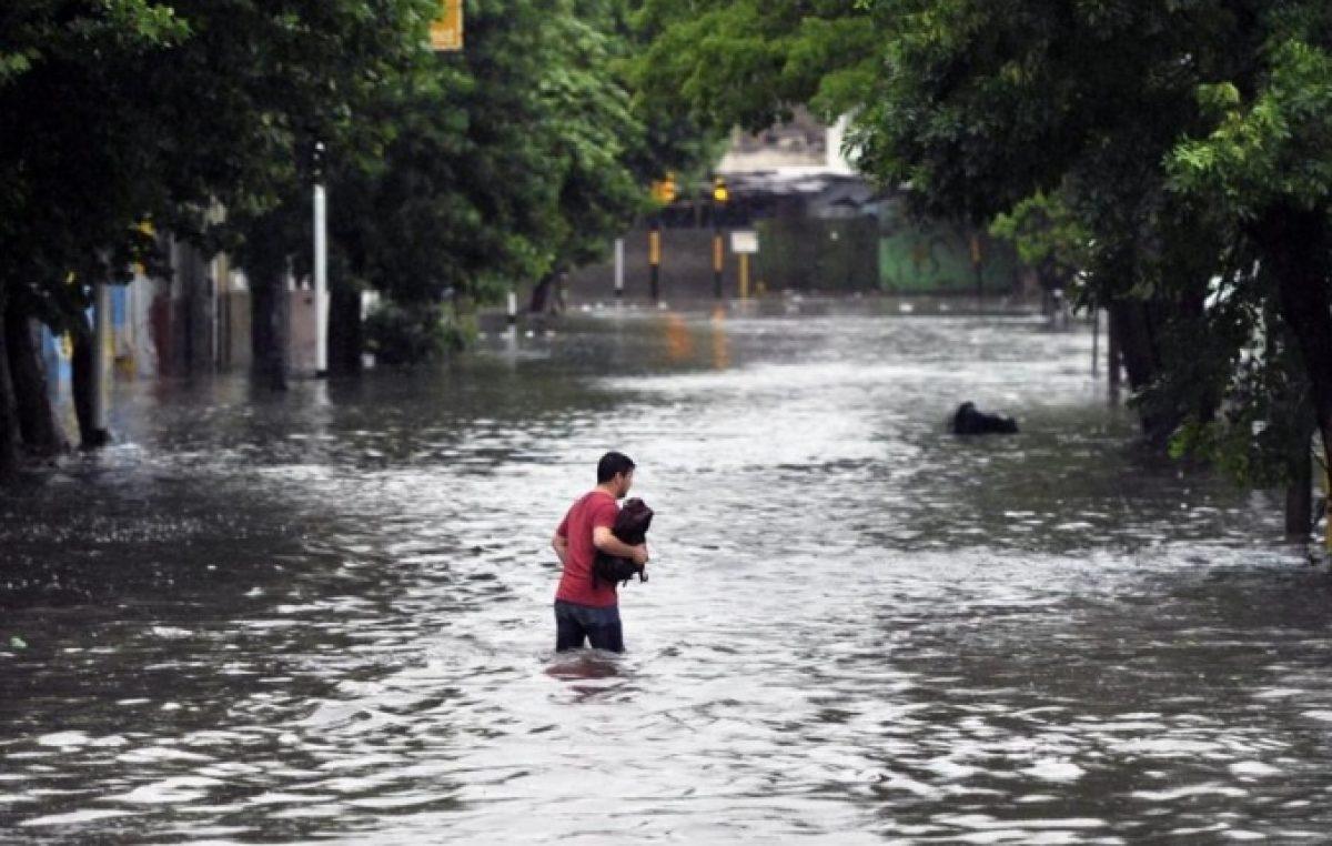 La otra cara de las inundaciones: en Buenos Aires se ejecutó menos de la mitad del Presupuesto destinado a prevenirlas
