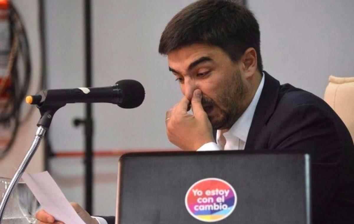 Olavarría: Galli hizo echar a la prosecretaria del Concejo porque su espacio votó contra la rendición de cuentas