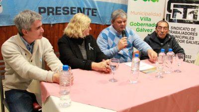 Villa Gobernador Gálvez: Firman convenio para que municipales puedan terminar el secundario