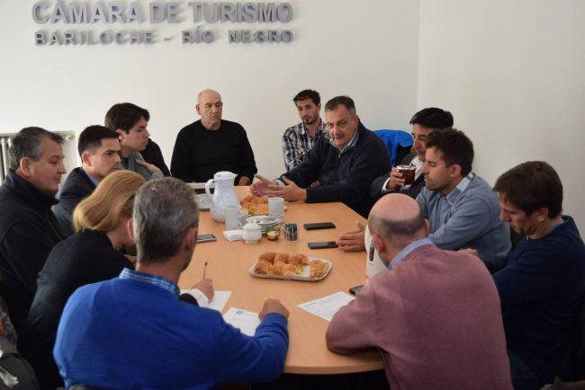 Por el aumento del desempleo el intendente de Bariloche pidió apoyo a los empresarios turísticos