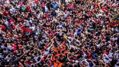 Día del Trabajador: sindicatos de Brasil pedirán por la libertad de Lula Da Silva