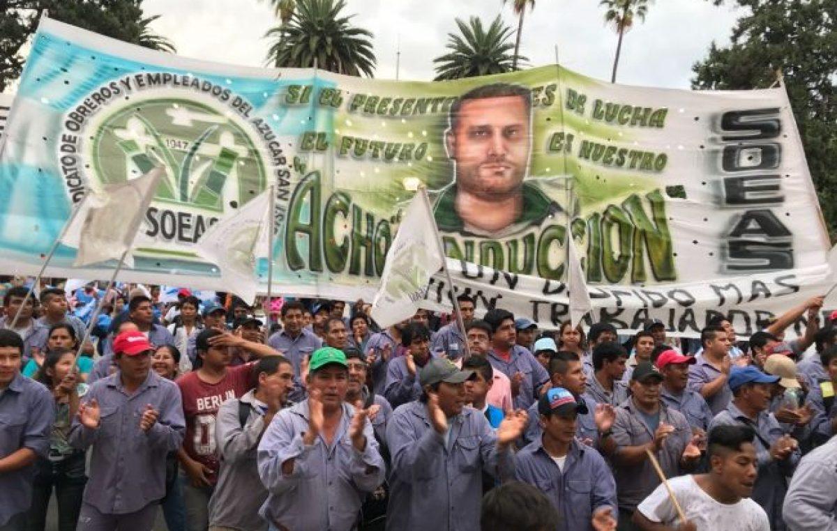 Salta: los trabajadores del Ingenio San Isidro siguen esperando soluciones
