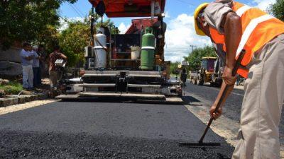 Concordia: El municipio inicia importante plan de pavimentación de 85 cuadras