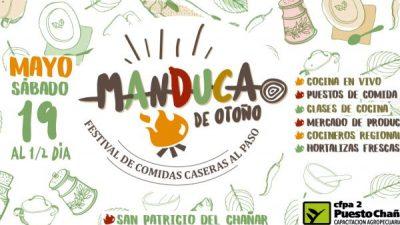 """MANDUCA """"Primer festival de comidas caseras al paso"""" en El Chañar"""