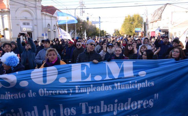 SOEM Río Gallegos profundiza su reclamo por aumento