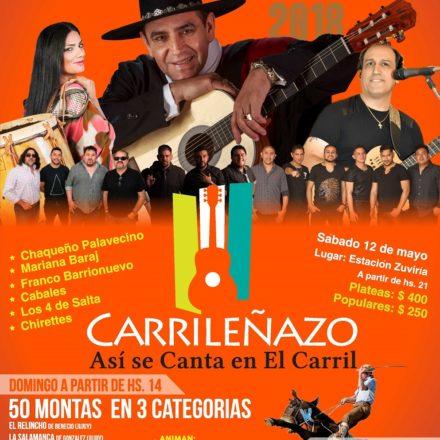 """""""Carrileñazo 2018"""" del 11 al 13 de mayo en El Carril"""