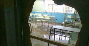 Plagas, carencias y riesgos en las aulas bonaerenses
