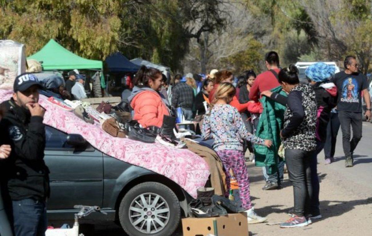La feria de Ugarteche, un fenómeno que crece en cada época de crisis