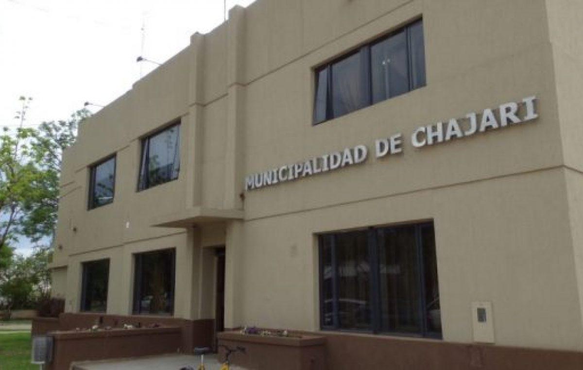 En junio el Municipio de Chajarí pagará un bono a sus trabajadores