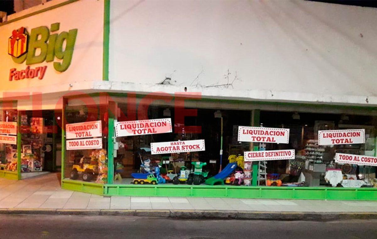 Cierra una de las jugueterías más importantes del centro de Paraná