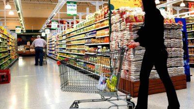 Río Cuarto: Los súper comenzaron a limitar la compra de alimentos básicos