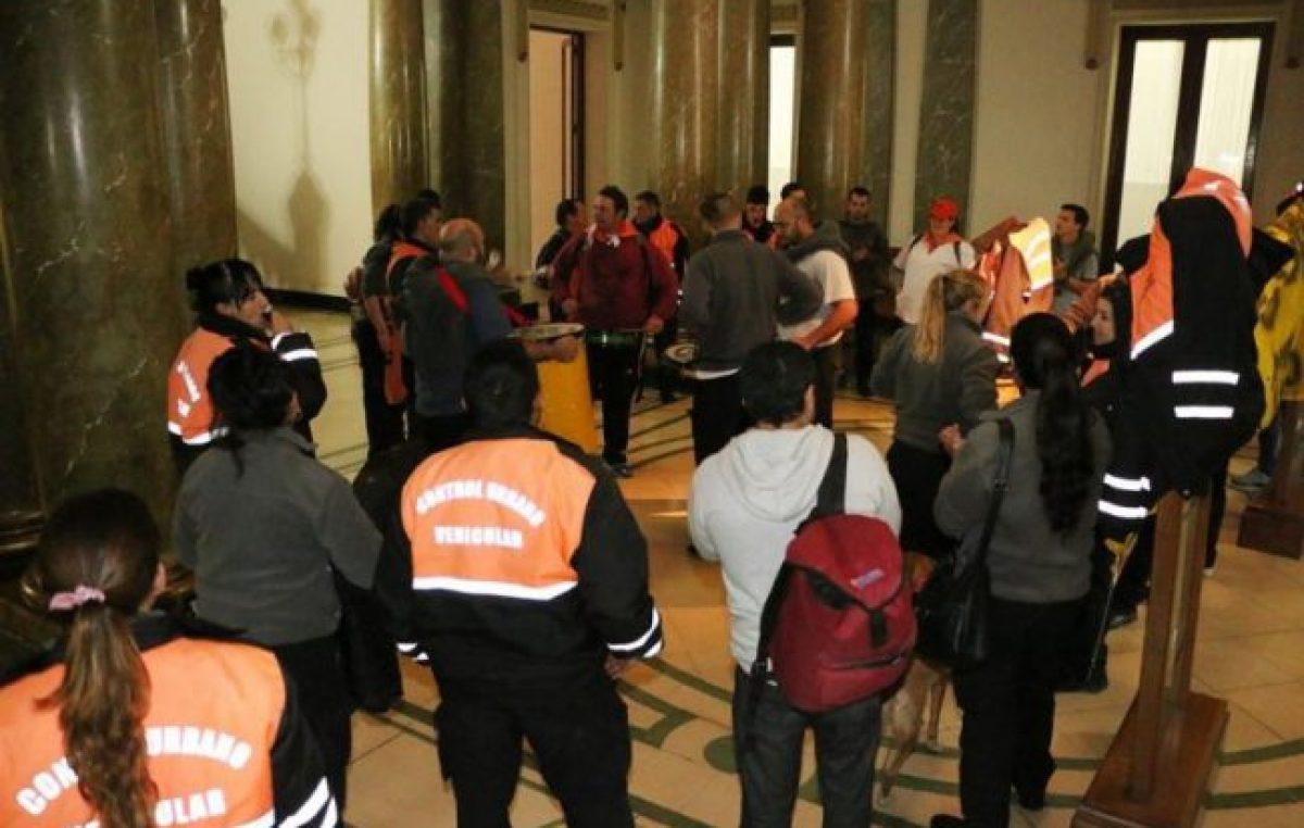 Tandil: Sin acuerdo, se pasó a un cuarto intermedio por Control Urbano y los inspectores siguen de paro
