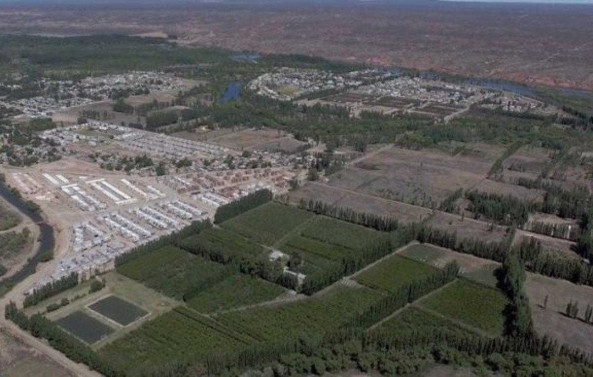La urbanización desterró a las chacras de la ciudad de Neuquén