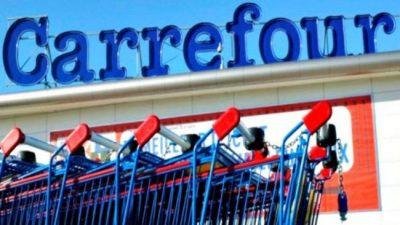 Carrefour ya cerró cinco sucursales y despidió a 200 trabajadores
