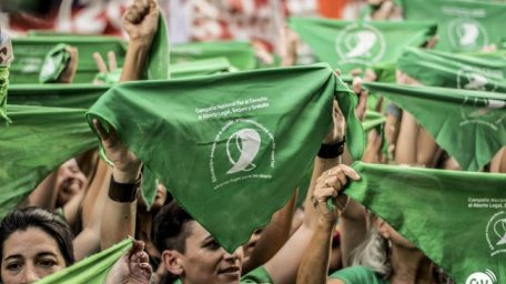 El pañuelo verde, el símbolo
